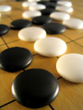 Ancient Game of Go 2 stock image