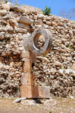 Ancient Game Ring. Ancient Game Field Ring - Yucatan, Mexico Royalty Free Stock Photos
