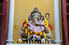Ancient Ganesha or Ganesh figure : Lord of Success (The Hindu El Royalty Free Stock Image