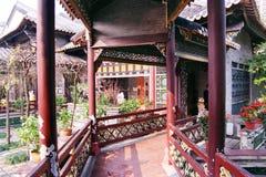 Ancient Garden Corridor stock photos