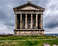 Ancient Garni pagan Temple in Armenia Royalty Free Stock Image