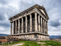 Ancient Garni pagan Temple in Armenia Stock Photography