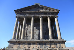 Ancient Garni Pagan Temple, Armenia Stock Photo