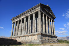 Ancient Garni Pagan Temple, Armenia Stock Images