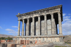 Ancient Garni Pagan Temple, Armenia Stock Image