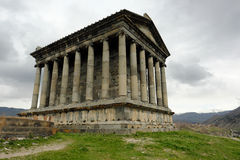 Ancient Garni pagan Temple Royalty Free Stock Image