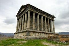 Ancient Garni pagan Temple Royalty Free Stock Images