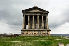 Ancient Garni pagan Temple Stock Image
