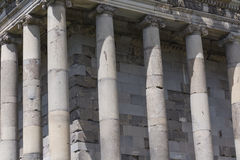 Ancient Garni pagan Temple, the hellenistic temple in Armenia.  Stock Photography