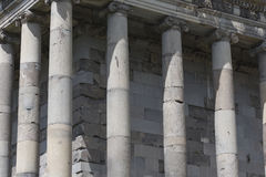 Ancient Garni pagan Temple, the hellenistic temple in Armenia Stock Image