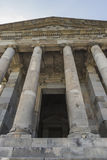 Ancient Garni pagan Temple, the hellenistic temple in Armenia.  Royalty Free Stock Images