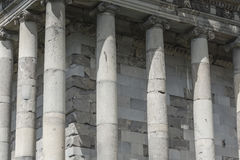 Ancient Garni pagan Temple, the hellenistic temple in Armenia.  Royalty Free Stock Photo