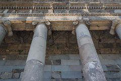 Ancient Garni temple in Armenia Royalty Free Stock Images