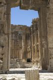 Ancient gates. Baalbeck, Lebanon Stock Image