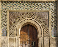 Ancient gates in Meknes, Morocco stock photo