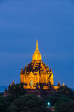 Ancient Gawdaw Palin  Pagoda, Bagan(Pagan) Royalty Free Stock Image
