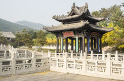 Ancient Gazebo in a Chinese Park #1 Royalty Free Stock Photo