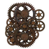 Ancient gears royalty free illustration