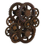 Ancient gears Royalty Free Stock Image
