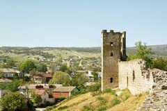 Ancient Genoese fortress in the city of Feodosia, Crimea Stock Photos