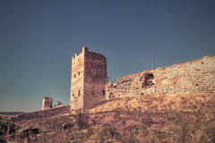 Ancient Genoese fortress in the city of Feodosia, Crimea Royalty Free Stock Image