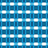 Ancient Geometric pattern in repeat. Fabric print. Seamless background, mosaic ornament, ethnic style. Design for prints on fabrics, textile, covers, paper Royalty Free Stock Photography