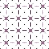 Ancient Geometric pattern in repeat. Fabric print. Seamless background, mosaic ornament, ethnic style. Design for prints on fabrics, textile, covers, paper Stock Photo
