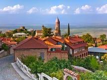 Ancient Georgian town Signakhi Stock Photo