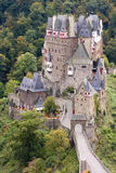 Ancient German Castle in the Autumn. Ancient Burg Eltz Castle in the Autumn in Germany Royalty Free Stock Photo