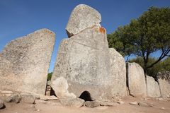 Ancient Giant Tomb, Sardinia Stock Photos
