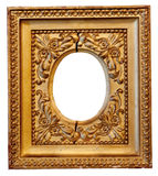 Ancient Gilded frame Royalty Free Stock Image