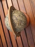 Ancient globe. Closeup of an ancient world globe Stock Photography
