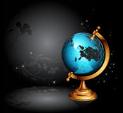 Ancient globe Stock Photography