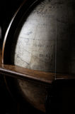 Ancient globe of planet earth Royalty Free Stock Images