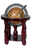 The ancient globe. On a white background Stock Image