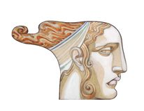Ancient goddess Royalty Free Stock Image