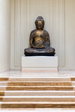 Ancient Gold / Bronze Buddha Statue Stock Photography
