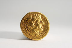 Ancient Gold Coinage 1 Royalty Free Stock Images