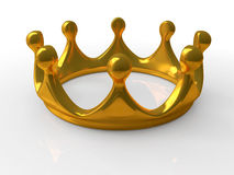 Ancient gold crown Royalty Free Stock Photo