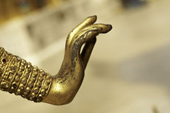 Ancient Gold Hand Stock Images