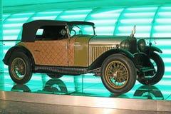 Ancient golden car Stock Photos