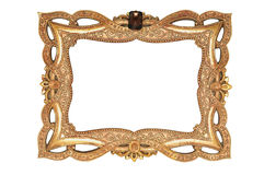 Ancient golden frame. Stock Images