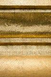 Ancient golden mosaic Stock Image