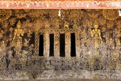 Ancient golden paintings Royalty Free Stock Image
