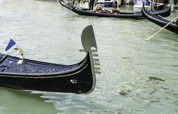 Ancient gondola in Venice Royalty Free Stock Photo