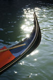 Ancient gondola in Venice Royalty Free Stock Photography