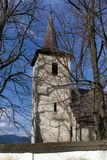 Gothic church of All Saints Ludrova, Slovakia. Ancient gothic church of All Saints Ludrova, Slovakia stock photography