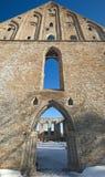 Ancient Gothic ruins of Pirita monastery Royalty Free Stock Image