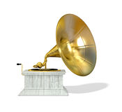 Ancient  gramophone Royalty Free Stock Photos