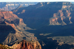 Ancient Grand Canyon Scenic View Stock Photo